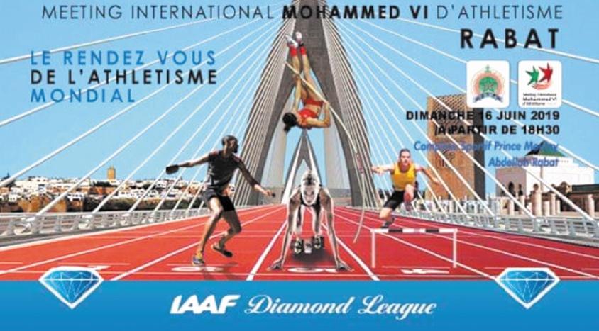 Meeting International Mohammed VI : Beau plateau attendu aux épreuves de sprint
