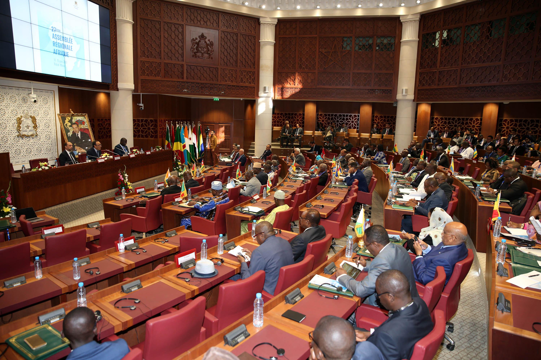Notre espoir collectif est de jeter les bases d'une Afrique nouvelle, plus développée, plus solidaire et plus unie
