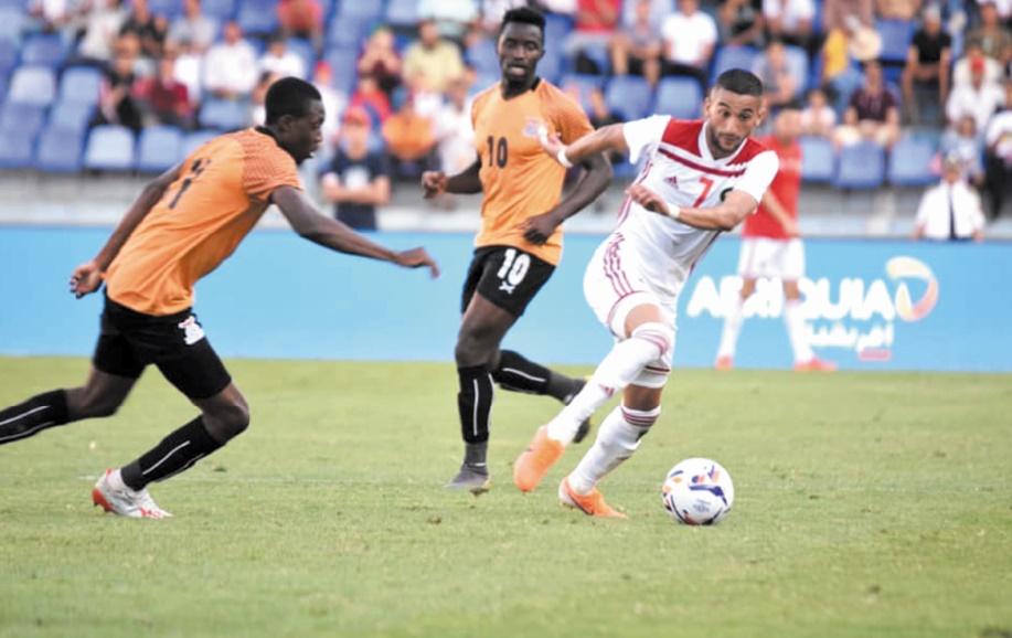 Préparation de l'équipe nationale pour la CAN 2019
