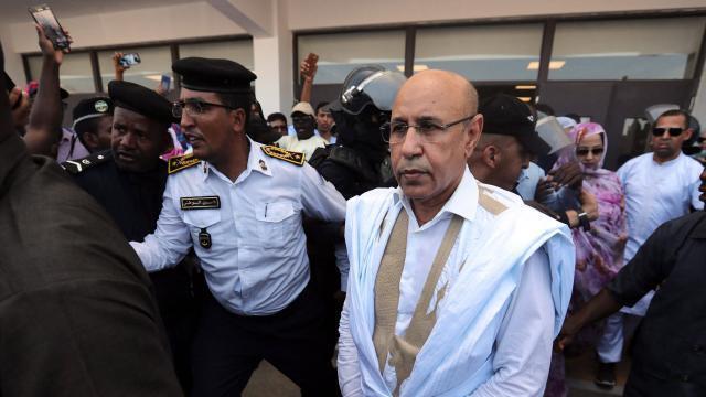 Mohamed Cheikh El-Ghazouani se déclare vainqueur de la présidentielle mauritanienne dès le premier tour