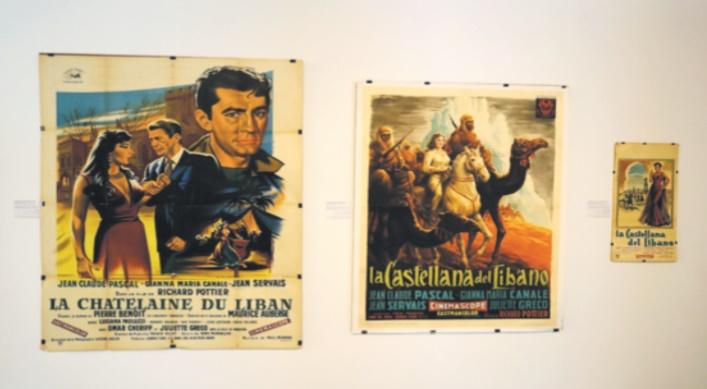 Au Liban, des posters vintage exposent les clichés du cinéma occidental