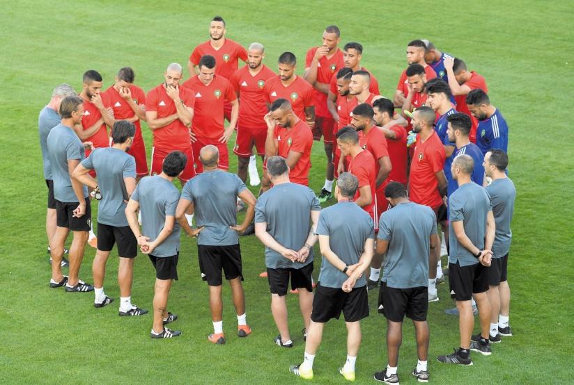 L'équipe nationale en quête d'un point Et pourquoi pas plus ?