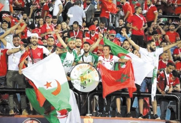 Fans des Lions et des Fennecs sous le signe de la fraternité
