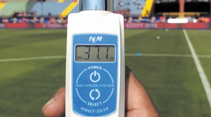 La CAF prend des dispositions pour une pause hydratation de 3 minutes