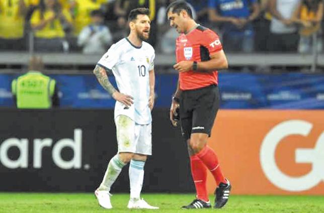 Copa America : La Fédération argentine se plaint de grossières erreurs d'arbitrage