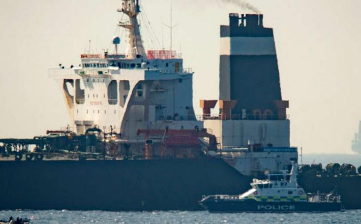L'Iran demande la libération immédiate du pétrolier arraisonné à Gibraltar