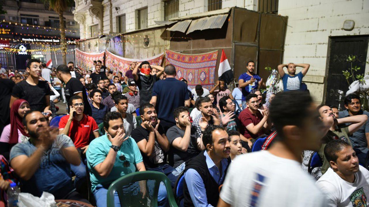 Les supporters des Pharaons sous le choc de l'élimination