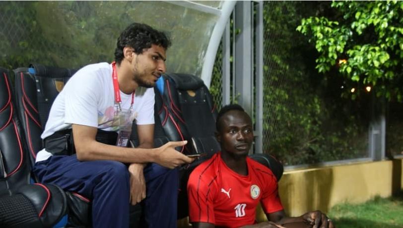 Ahmed, le bénévole aveugle qui voulait interviewer Sadio Mané