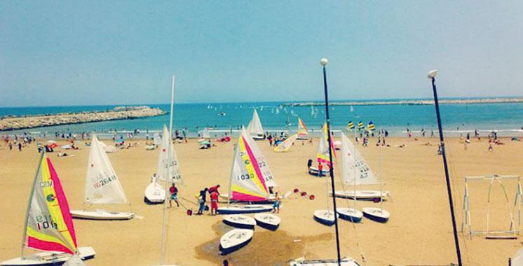 Rabat à l'heure du Festival nautique international
