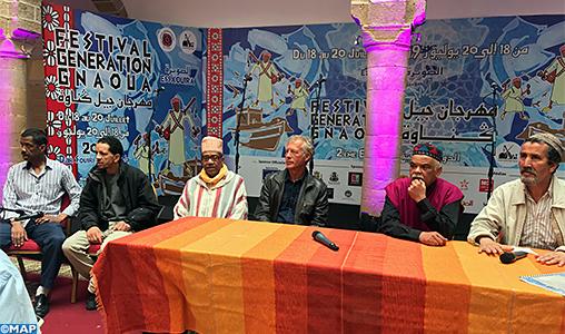 Débat à Essaouira sur le rôle des jeunes dans la préservation du patrimoine gnaoui