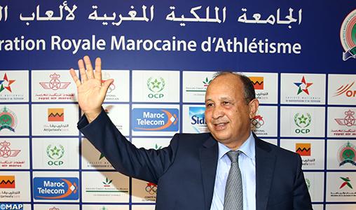 Abdeslam Ahizoune rempile à la tête de la FRMA