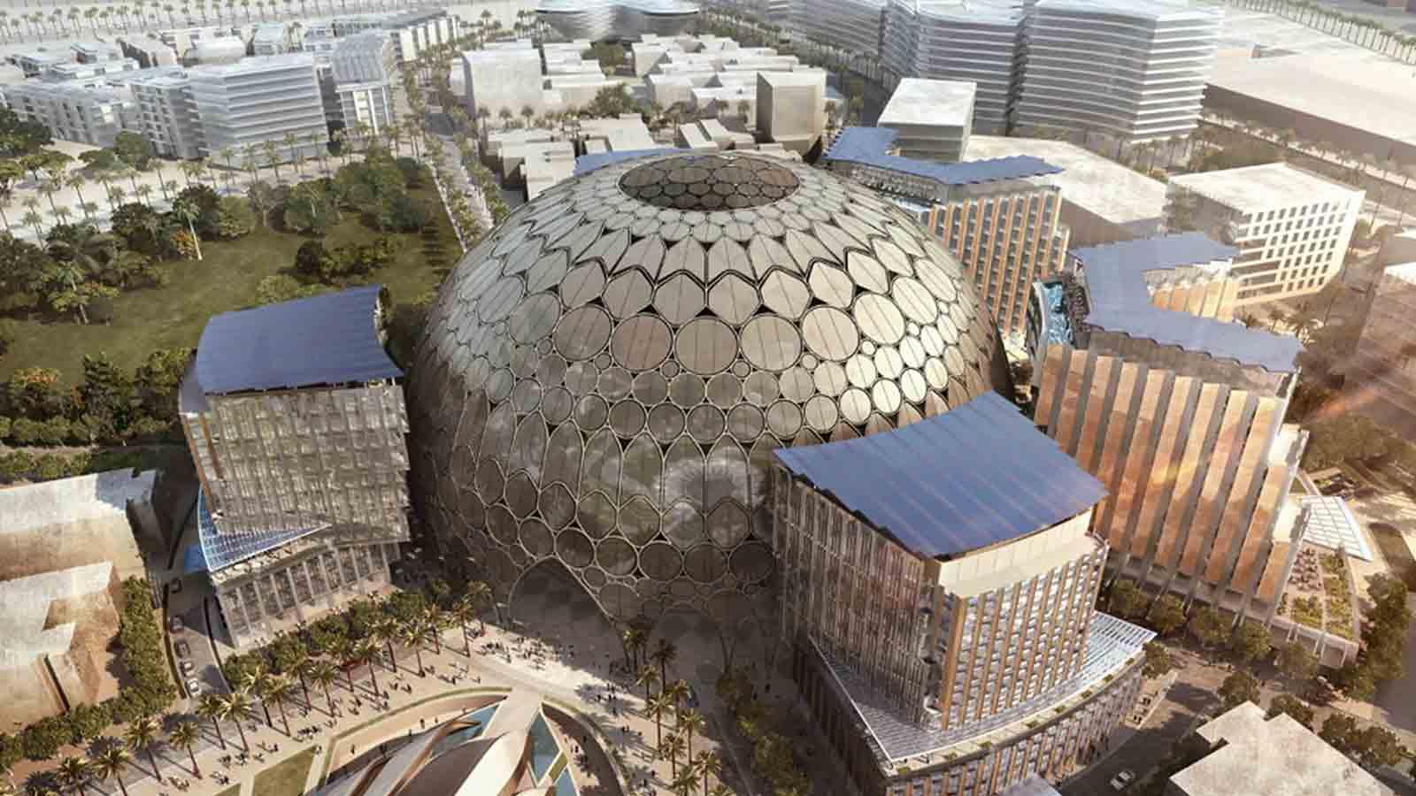 Le Maroc érige son pavillon sur le site de l'Expo 2020 Dubaï
