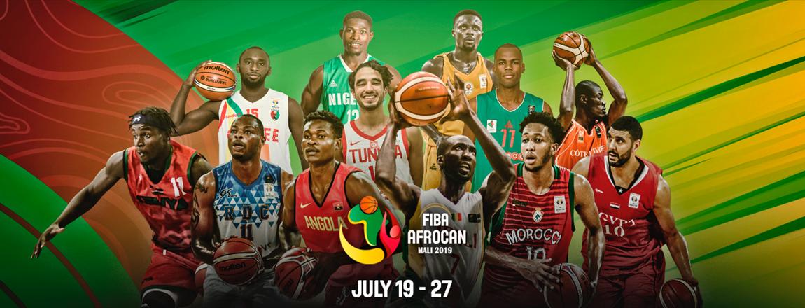 Le Cinq national au pied du podium de l'Afrocan