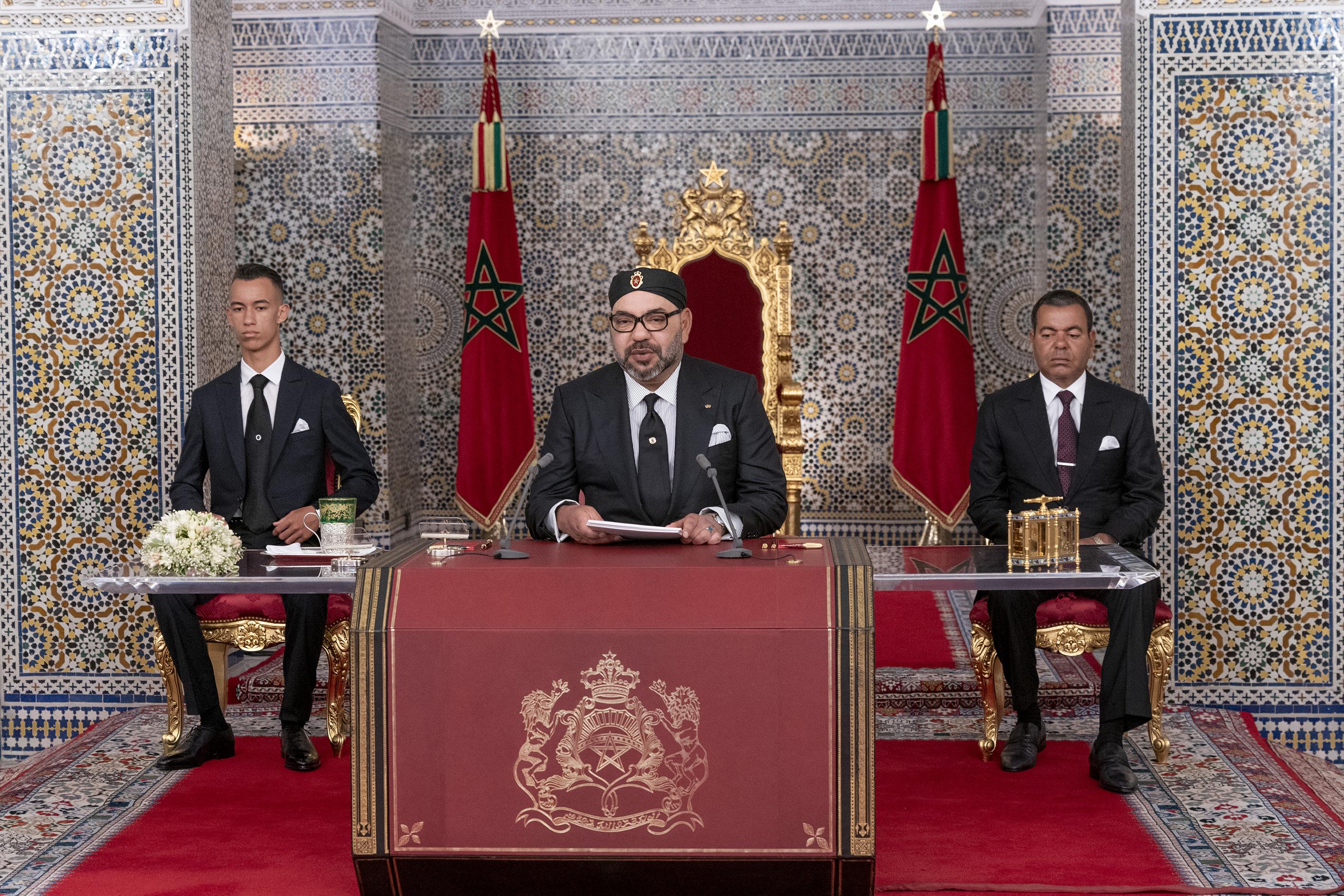 S.M le Roi : Les intérêts de la nation  et des citoyens doivent passer avant tout