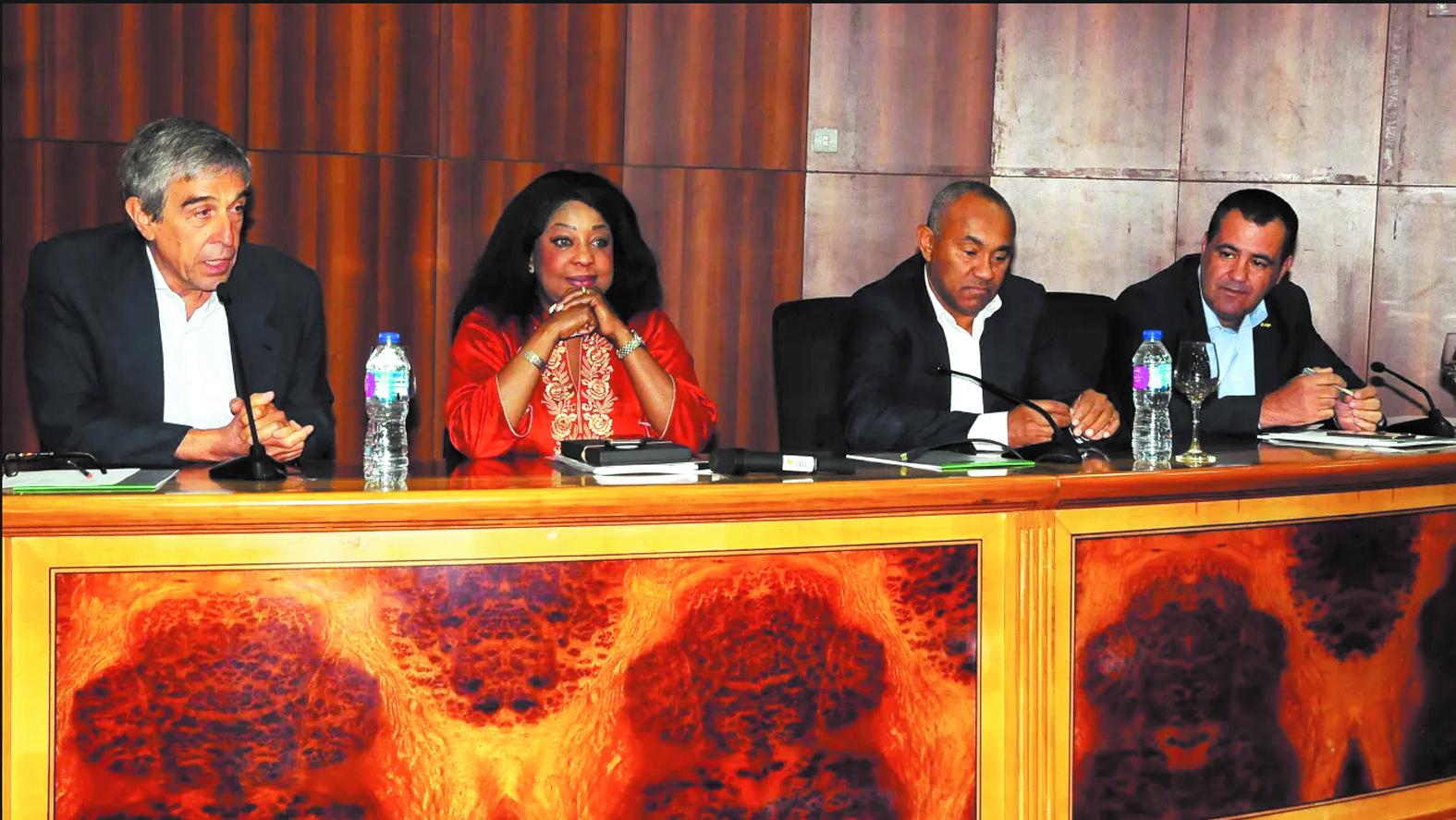 Fatma Samoura a pris  ses fonctions à la CAF
