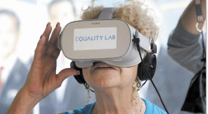 La réalité virtuelle, remède à l'isolement des personnes âgées