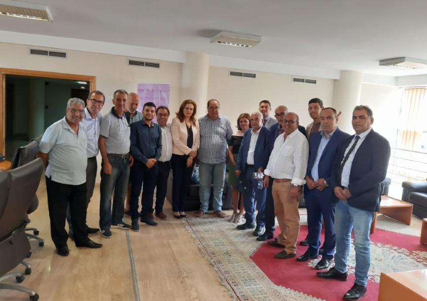 Le Premier secrétaire se réunit avec les Ittihadis du monde