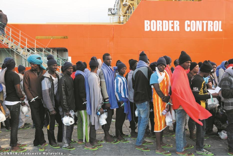 Baisse du nombre des entrées illégales en Europe