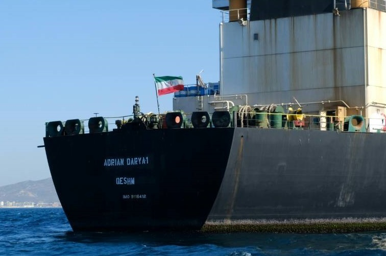 L'Iran met en garde Washington contre une saisie de son pétrolier ayant quitté Gibraltar