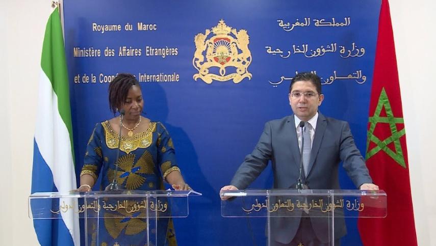 La Sierra Leone réitère son soutien à l'intégrité territoriale du Maroc