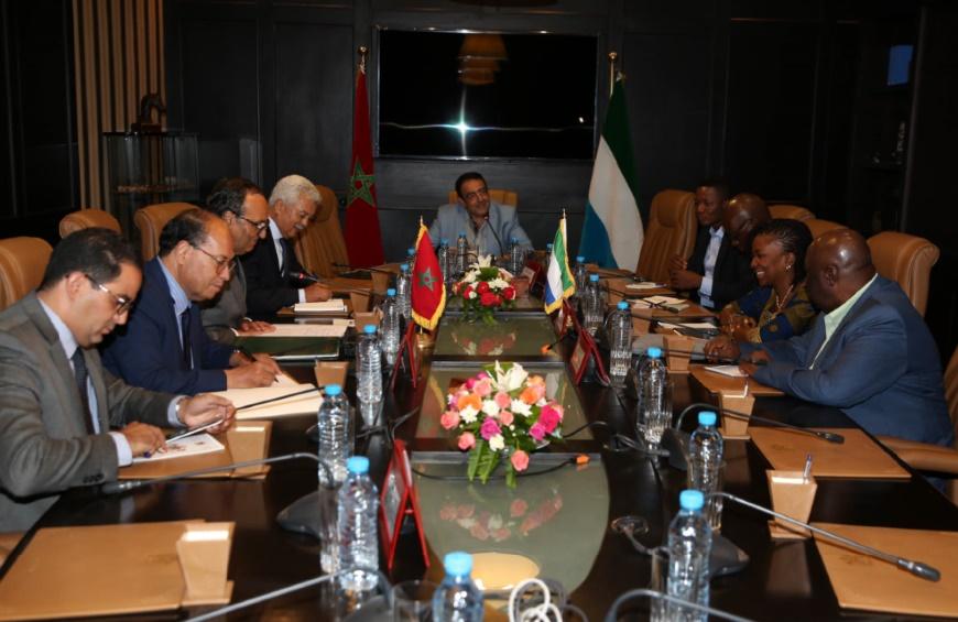 Habib El Malki salue la position de Freetown