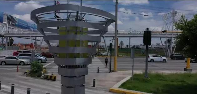 """Un """"arbre"""" artificiel combat la pollution"""