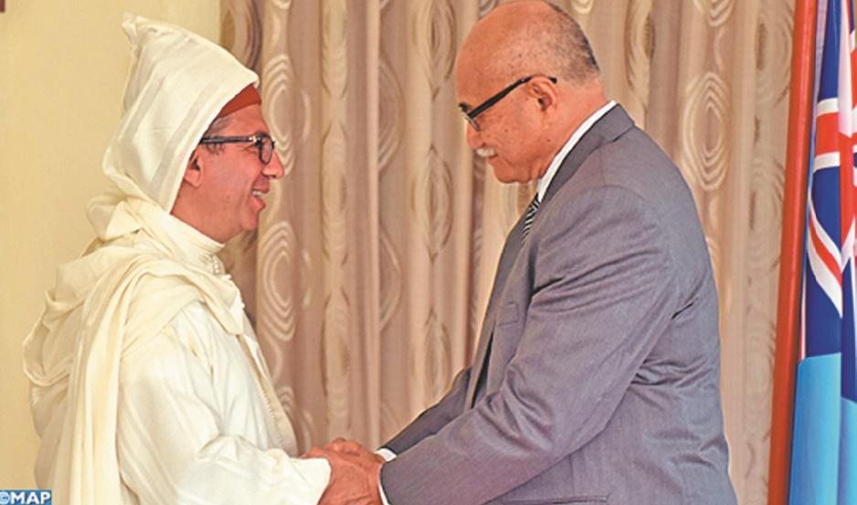 Le Maroc et les Iles Fidji veulent booster leurs relations