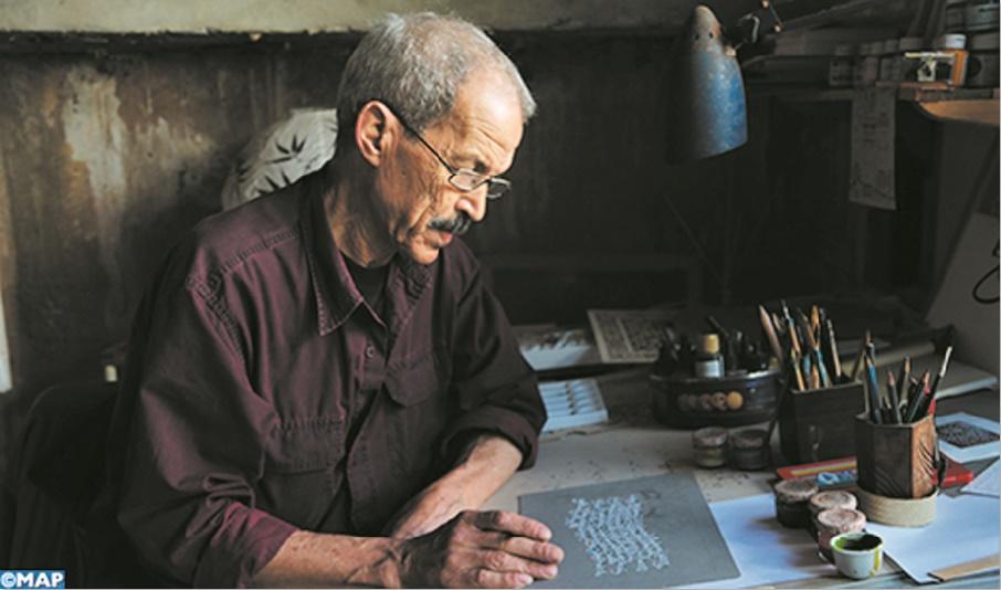 Abdelhamid Azzubair, un artiste éclectique qui exalte la calligraphie arabe