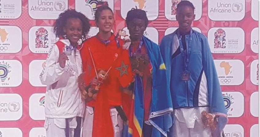 De l'or pour la taekwondiste marocaine Soukaina Sahib