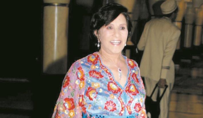 Des obsèques émouvantes pour l'artiste Amina Rachid