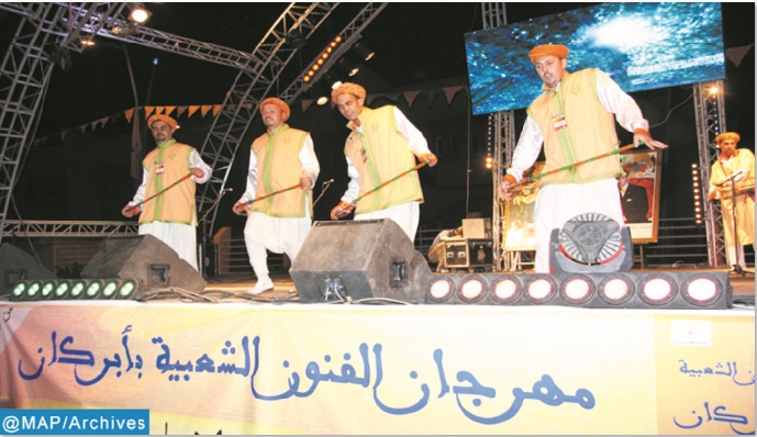 Nouvelle édition du Festival des arts populaires de l'Oriental à Berkane