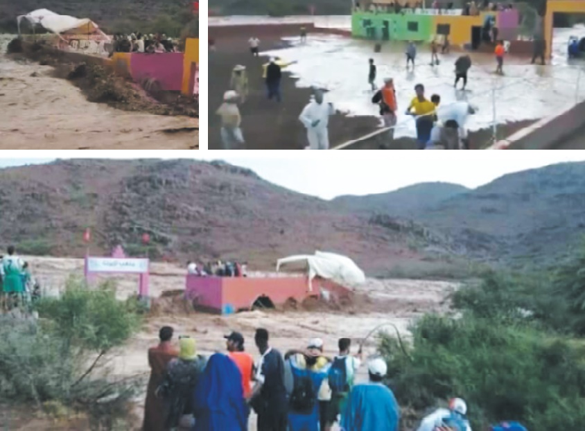 Une dizaine de citoyens emportés par les eaux près de Taroudant : Oueds en crue et conscience en décrue