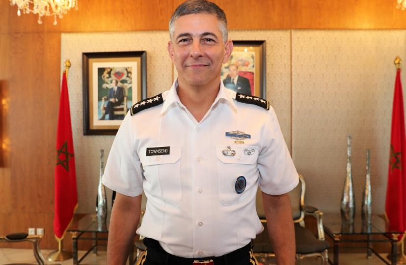 Le général d'armée Stephen J. Townsend, commandant l'AFRICOM :  Le Maroc apporte la sécurité à l'ensemble de l'Afrique