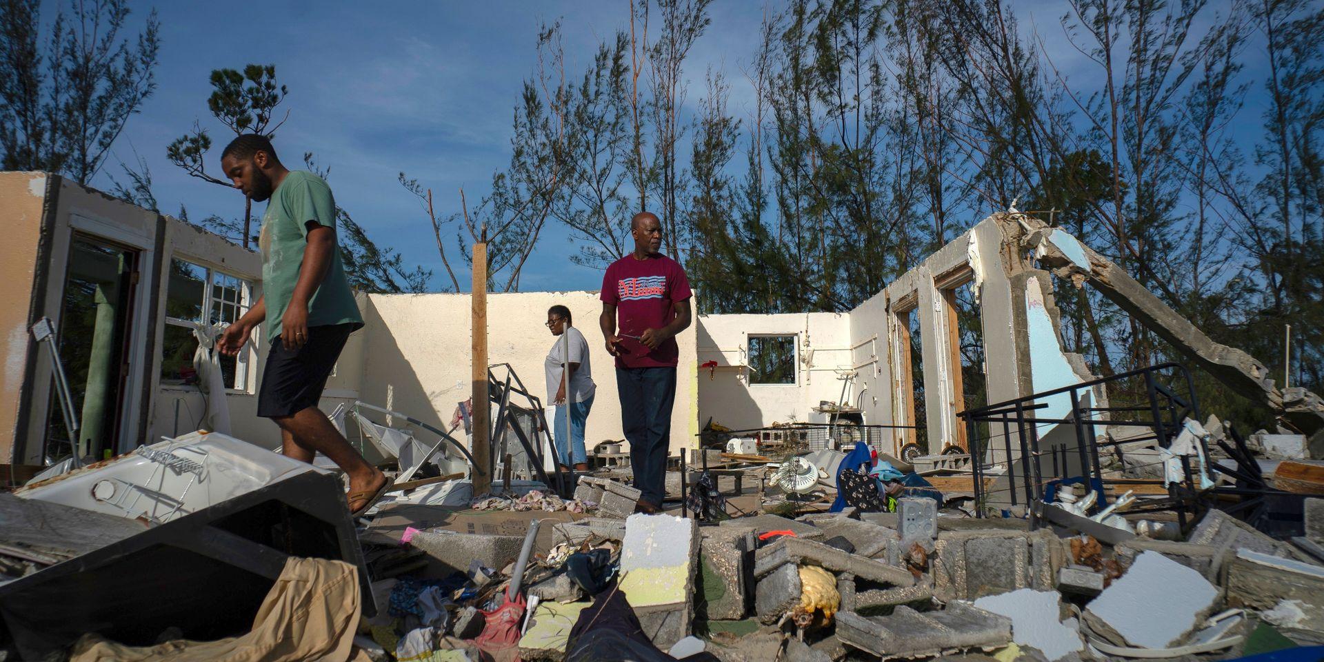 Au moins 20 morts aux Bahamas ravagées par Dorian qui s'approche des Etats-Unis