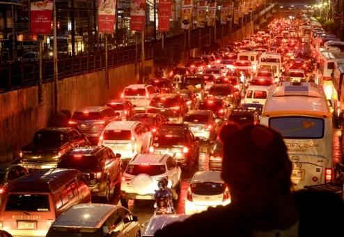 Les embouteillages meurtriers de la capitale philippine
