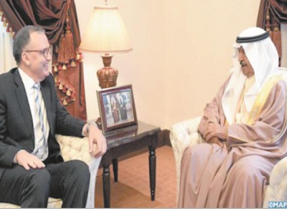Le Premier ministre bahreïni salue la solidité des relations lentre son pays et le Royaume