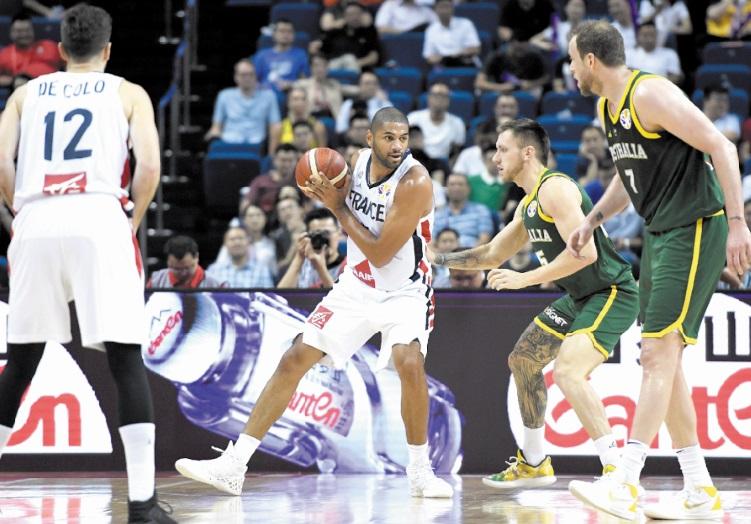 Mondial de basket : Les Français droit sur les Etats-Unis