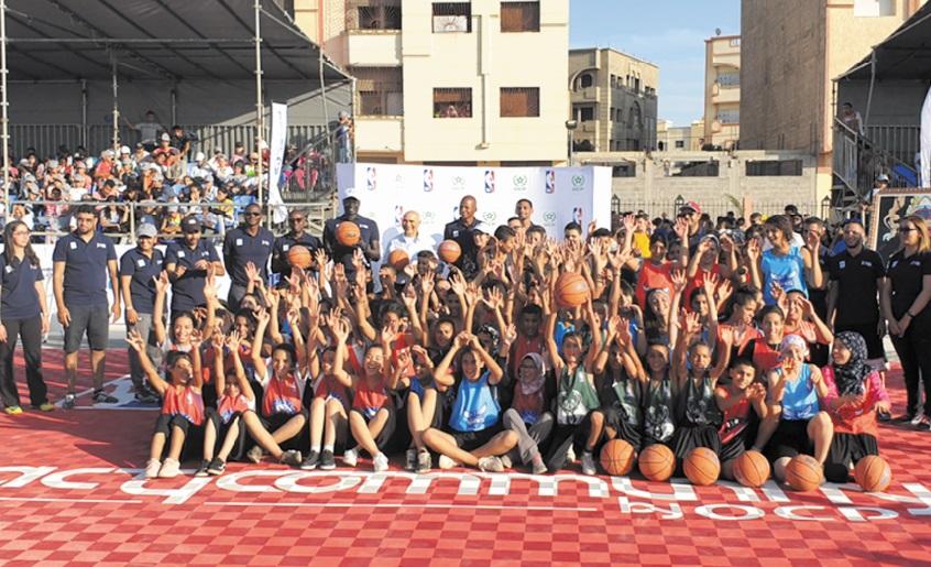 Le Maroc dans les petits papiers de la NBA