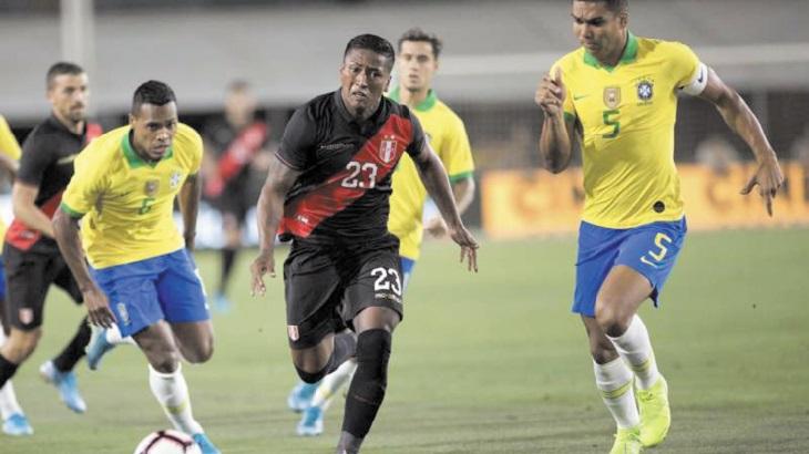 Le Pérou se venge du Brésil, malgré l'entrée en jeu de Neymar