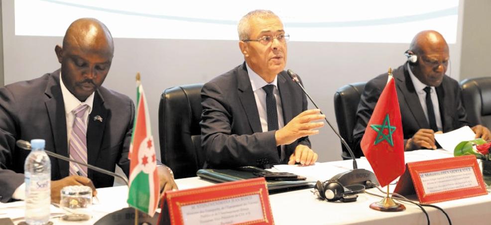 Mohamed Benabdelkader élu premier vice-président du Comité technique spécialisé de l'Union africaine