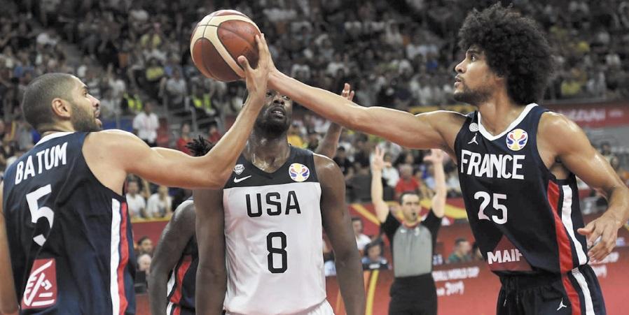 Mondial de basket : La France fait chuter les Etats-Unis de leur piédestal