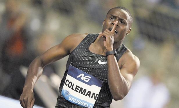 Coleman : Je n'ai jamais été contrôlé positif et ça n'arrivera jamais