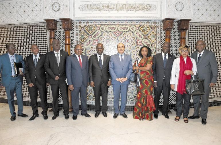 Signature d'un mémorandum d'entente entre la Chambre des représentants et l'Assemblée nationale ivoirienne