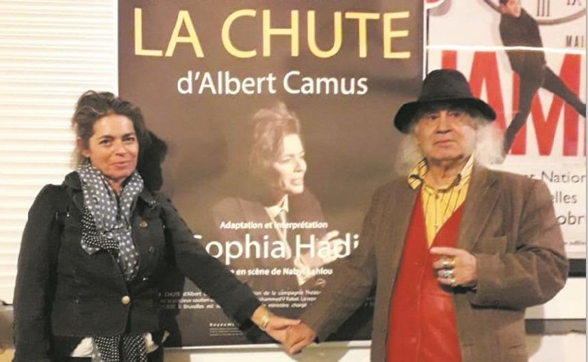 """Sophia Hadi revisite avec brio """"La chute"""" d'Albert Camus"""
