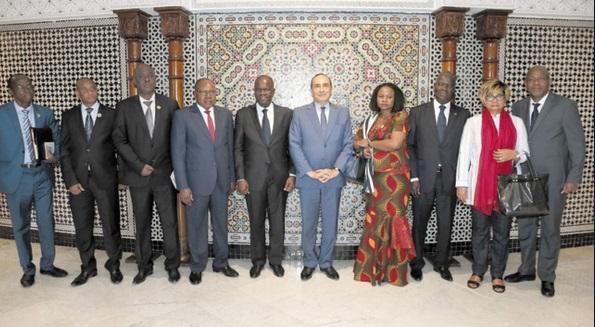 Habib El Malki et Amadou Soumahoro veulent revigorer la coopération parlementaire maroco-ivoirienne