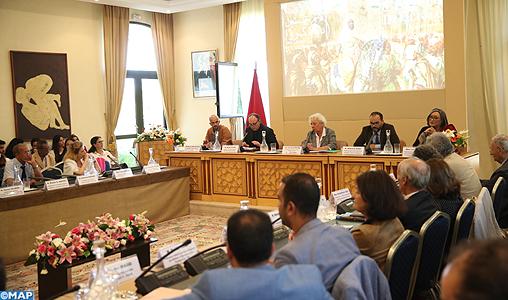 Clôture à Rabat du colloque international sur la palette marocaine de Delacroix