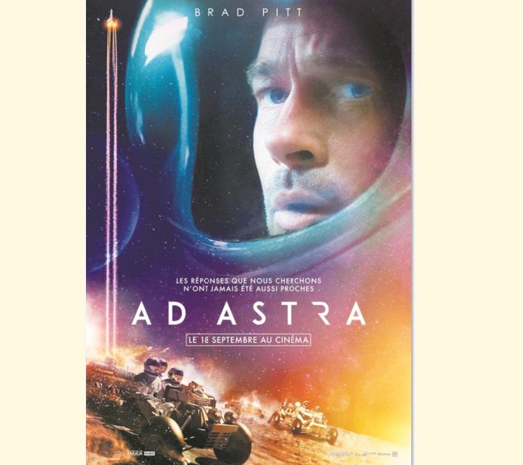 """Brad Pitt en cosmonaute dans """"Ad Astra"""""""
