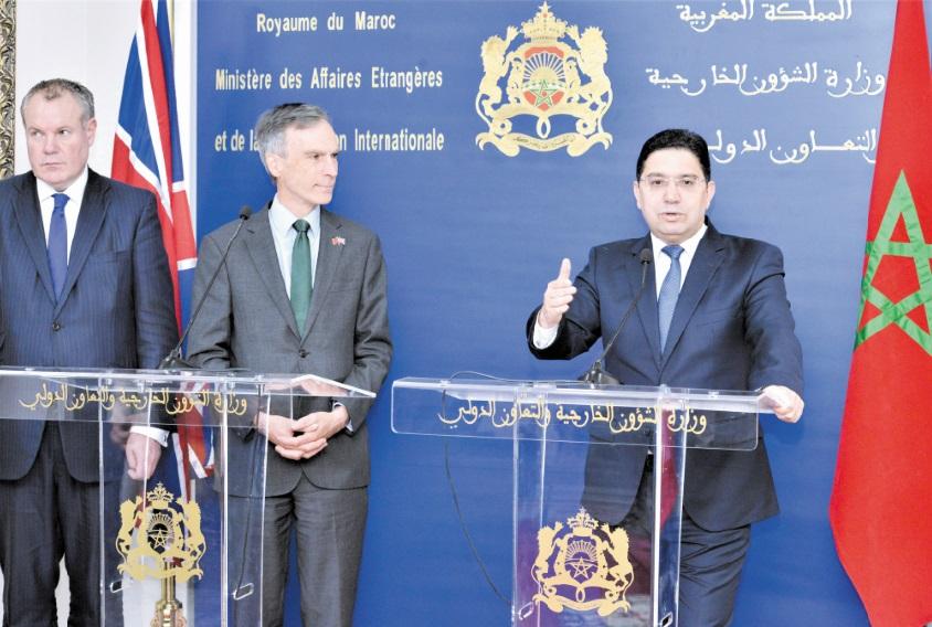 Londres réitère son soutien aux efforts sérieux et crédibles du Maroc au Sahara