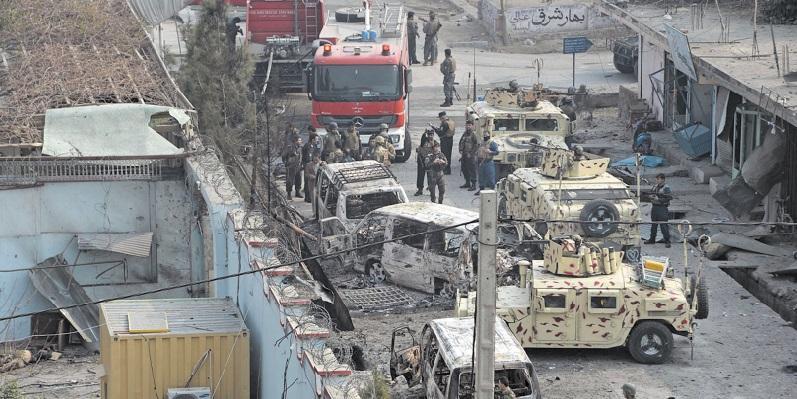 Série d'attaques et d'attentats suicide en Afghanistan