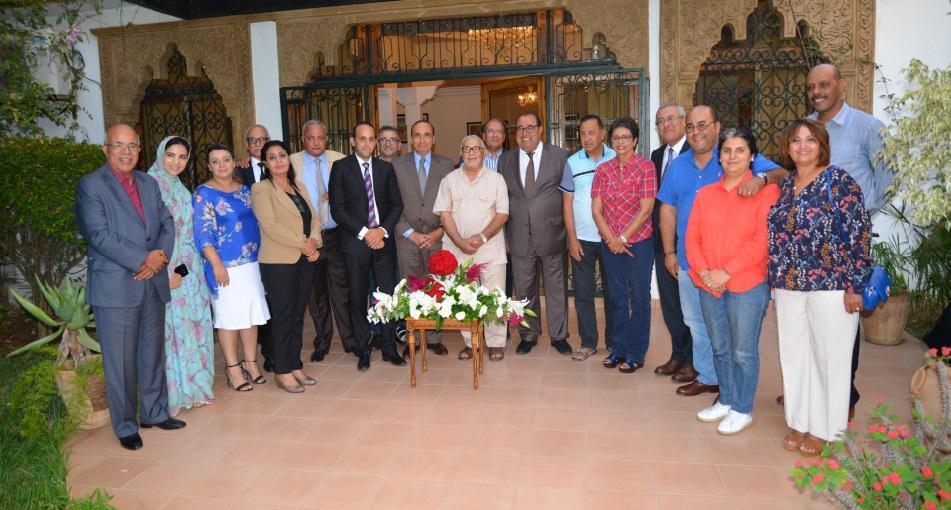 Une délégation du Bureau politique rend une visite de gratitude et de reconnaissance à Abdelouahed Radi
